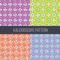 Kaléidoscope modèle vecteur défini