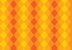 Fond de couche triangle jaune et orange vecteur