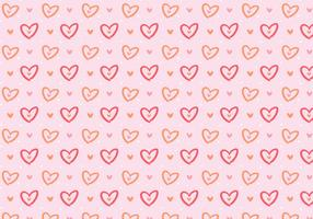 Amour Girly Pink Pattern vecteur