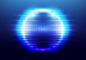 Fond de vecteur de rayonnement, modèle modifiable