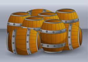 Whisky Barrel vecteur