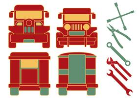 Philippine Jeepney Mechanic Outils