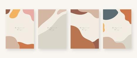 fond de concept minimal. arrière-plans abstraits de memphis avec espace de copie pour le texte. illustration vectorielle. vecteur