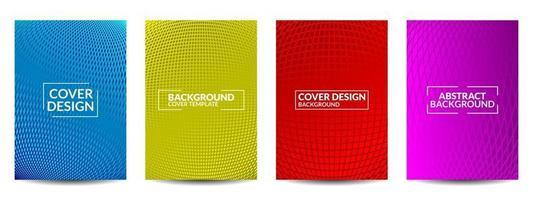 conception de couvertures de vecteur imal