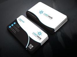 carte de visite professionnelle moderne, carte de visite créative et simple, modèle de conception de carte de visite, conception de carte de visite d'entreprise
