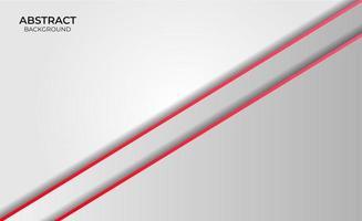 style de fond rouge et blanc vecteur