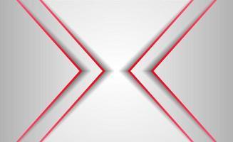 fond abstrait style rouge et blanc vecteur
