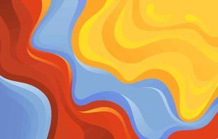 couleur abstraite jaune bleu et rouge vecteur