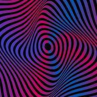 fond de texture en spirale rétro vecteur
