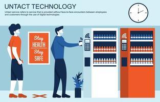 technologie intacte pour trouver des machines