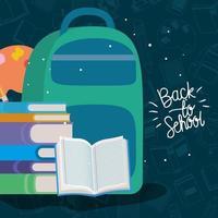 cartable et fournitures pour la rentrée scolaire