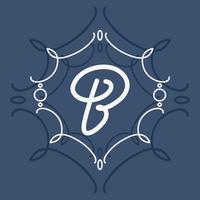 Vecteur de typographie lettre B