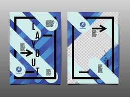conception d'affiche de sport dynamique avec des lignes de pinceau diagonales abstraites vecteur