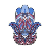 conception de symbole hamsa vecteur