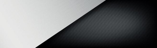 fond de texture abstraite métal et fibre de carbone - illustration vectorielle vecteur