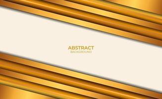 abstrait marron et or vecteur