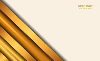 fond style abstrait marron et or vecteur