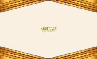 style de conception abstrait fond marron et or vecteur