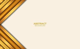 style de fond abstrait marron et or