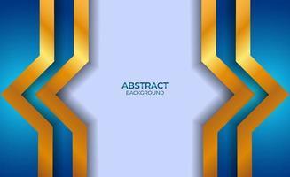 conception abstraite bleu et or