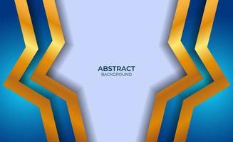 fond abstrait style bleu et or