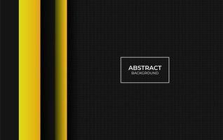abstrait fond jaune et noir vecteur