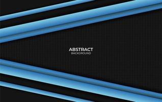 fond abstrait design bleu et noir