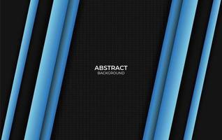 conception abstraite fond bleu et noir vecteur