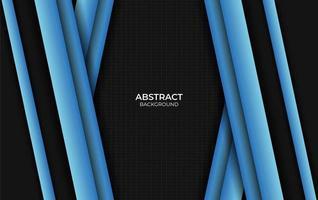 abstrait bleu et noir vecteur