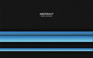 style abstrait bleu et noir