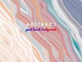 abstrait avec pinceau vecteur