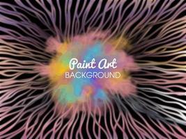 fond abstrait coloré avec de la peinture vecteur