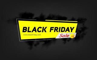 vendredi noir super vente seulement aujourd'hui vecteur