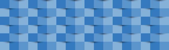 en-tête de texture abstraite bleue. bannière de style de papier 3d de vecteur. présentation de couverture. fond abstrait vecteur
