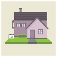 Immobilier à vendre vecteur