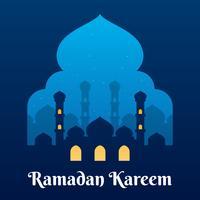 Graphique Ramadan vecteur