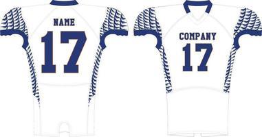 maquettes en jersey de compression vecteur