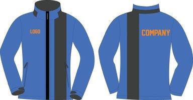 conceptions personnalisées de vestes softshell vecteur