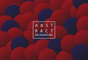 Abstrait fond rouge et bleu foncé avec forme d'ellipse vecteur