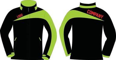 conception personnalisée de vestes softshell vecteur