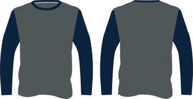 maquettes de chemise de tireurs sublimées vecteur