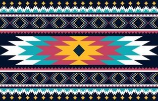 fond de conception traditionnelle motif ethnique géométrique vecteur