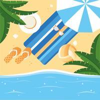 Vector illustration de conception de vacances d'été