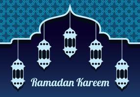 Fond de vecteur de Ramadan