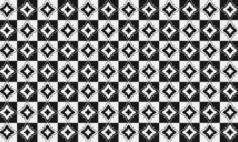 motif de carreaux de sol noir et blanc vecteur