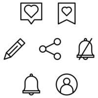 icône de l'application de médias sociaux