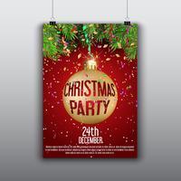 Fond flyer de Noël