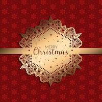 Fond de Noël décoratif vecteur