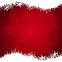 Fond de flocon de neige de Noël grunge
