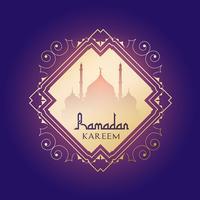 Fond de Ramadan Karéem vecteur